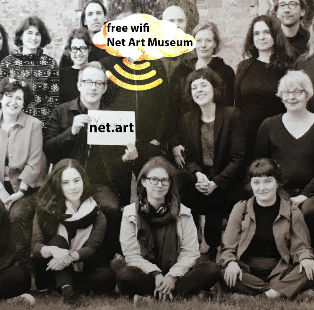 Serge Hoffman Free Wifi Net Art Museum